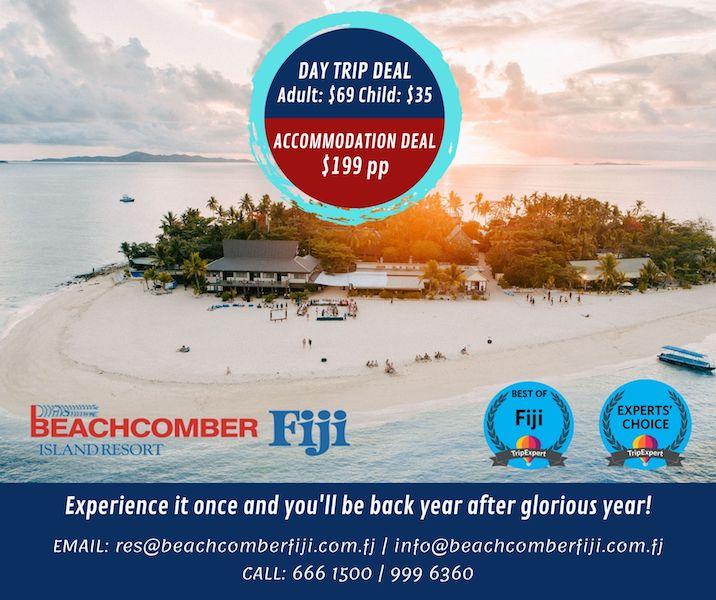 Beachcomber Fiji Specials 2021