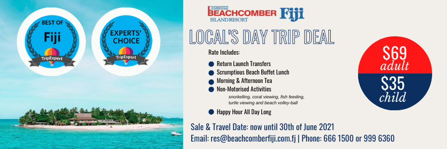 Beachcomber Fiji Day Trip
